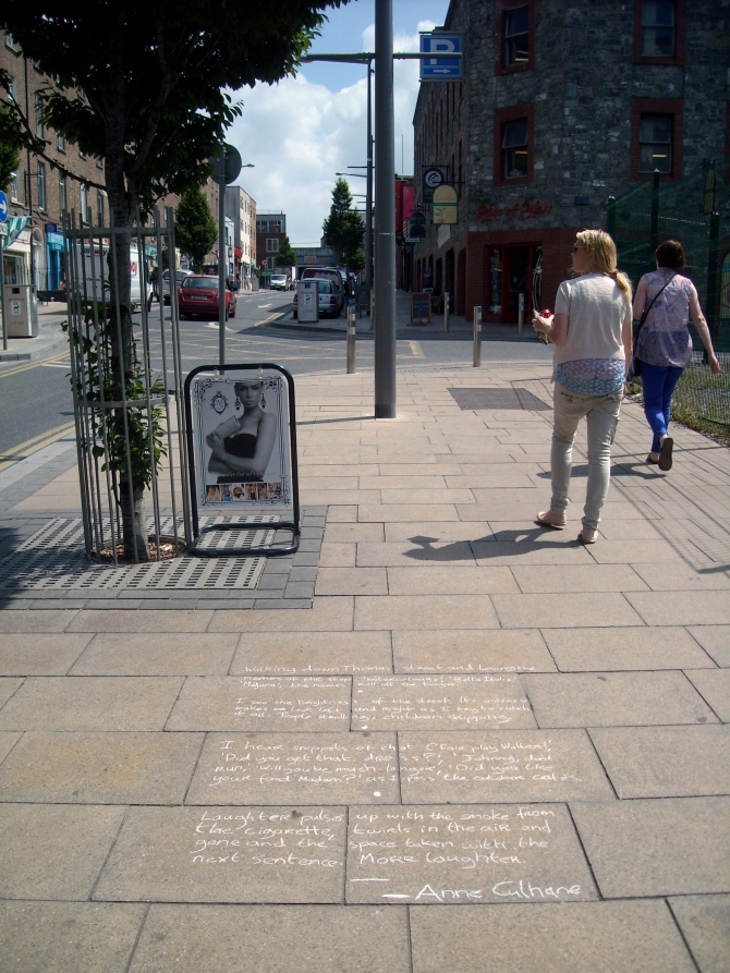 Anne Culhane's Piece on Thomas Street